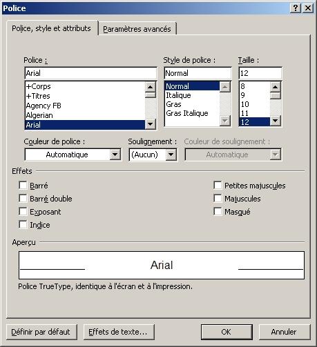 pagination sur word 2010